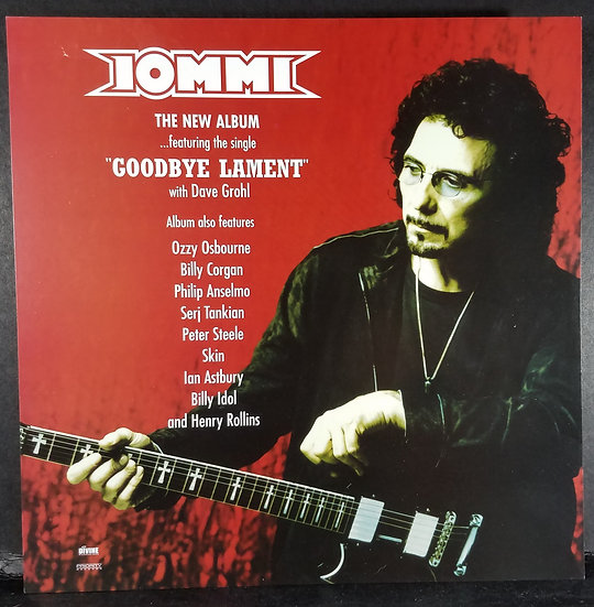 "Tony Iommi ""Goodbye Lament"" Promo Flat"