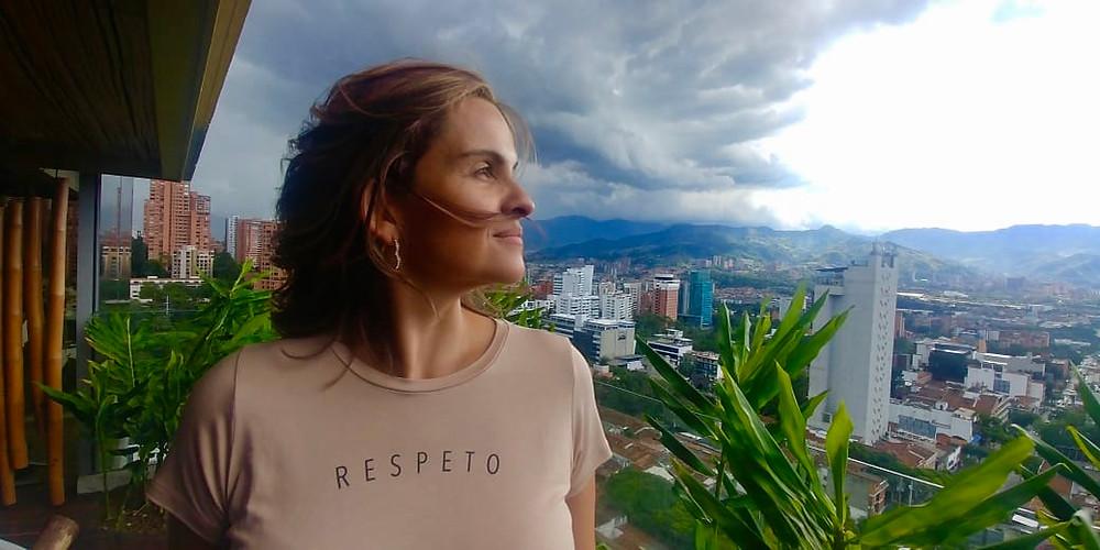 Foto tomada en Medellín ese Domingo
