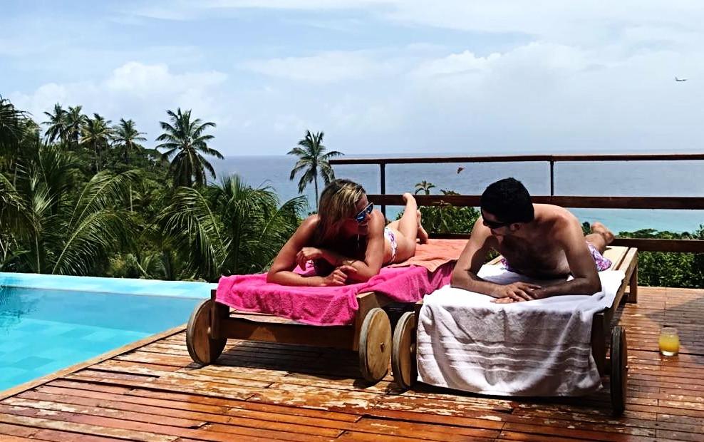 Carlos y yo en San Andrés