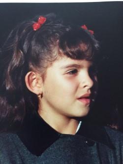 Yo de seis años en sesión de fotos en Bogotá
