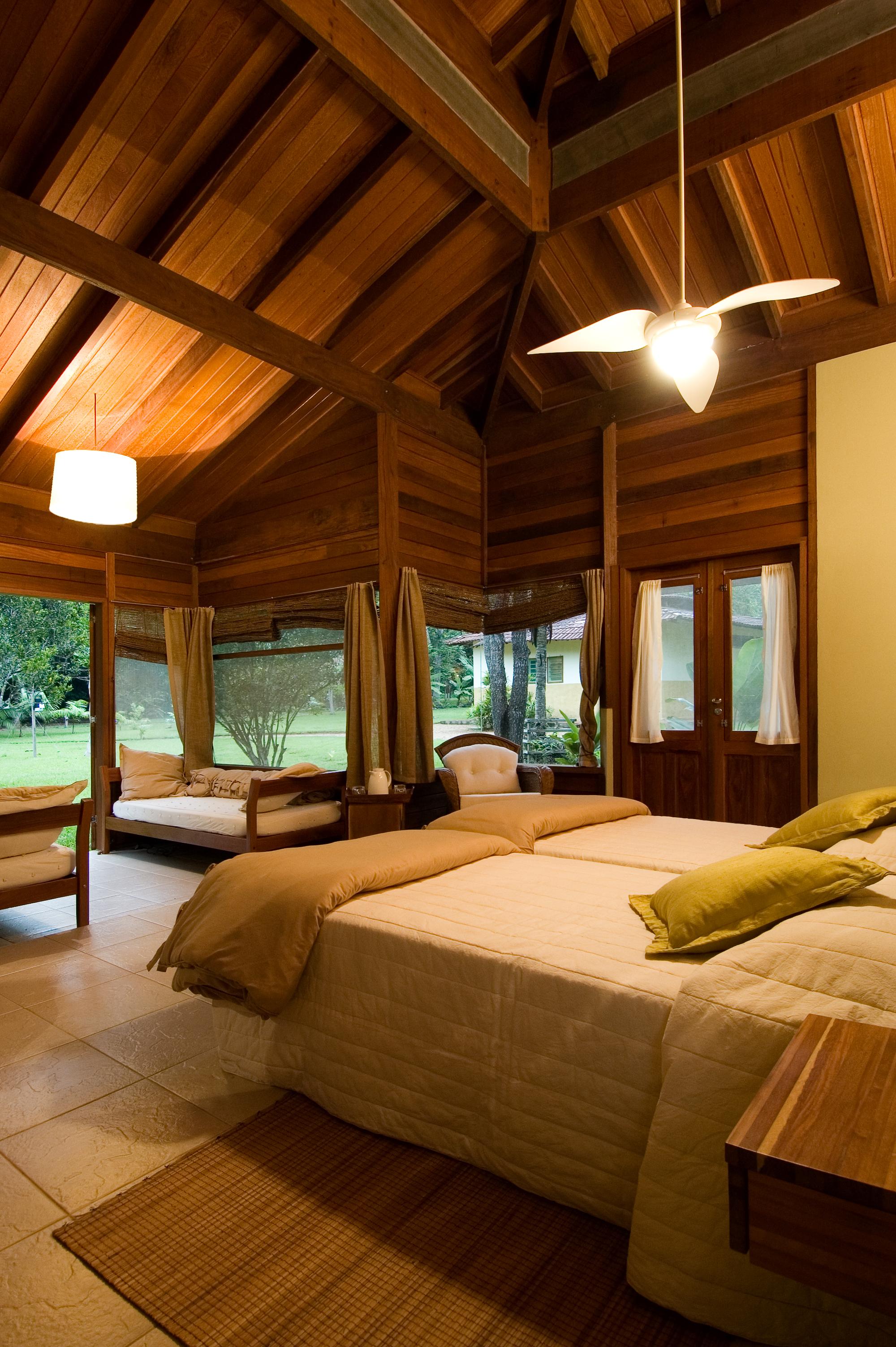 Cristalino Jungle Lodge Bungalow Inside- Katia Kuwabara