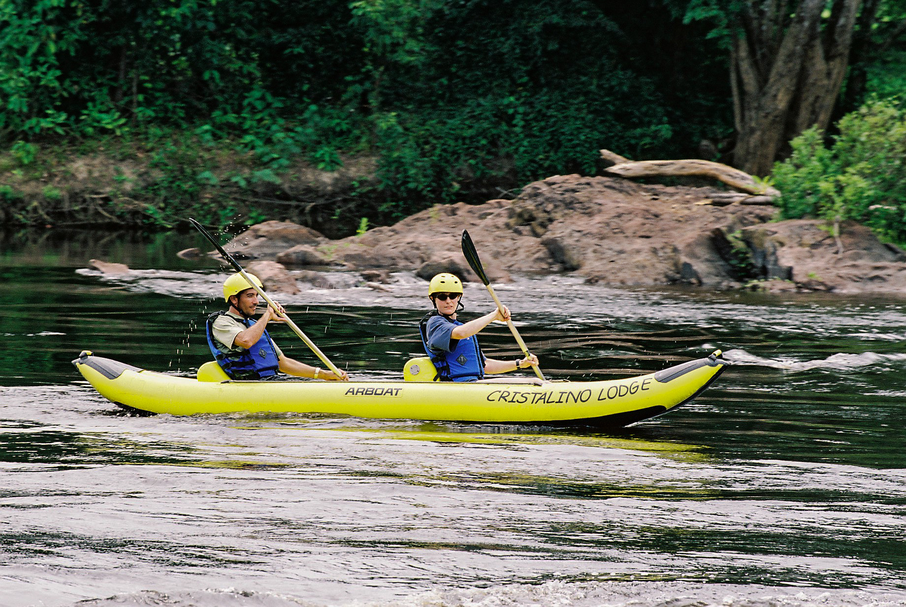 Cristalino Jungle Lodge - Canoeing- Cecile Dubois