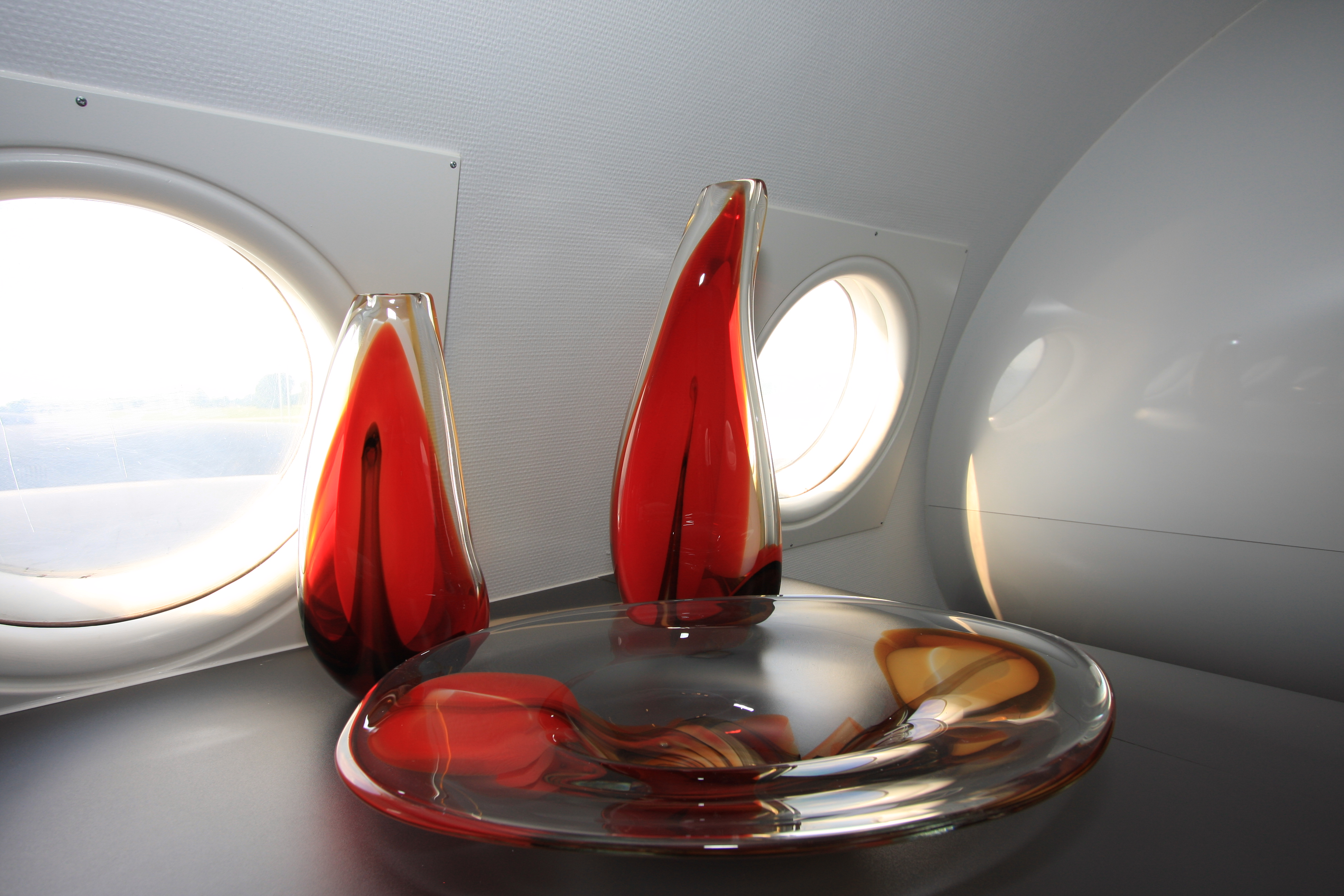 detail (Molinari glass objects)