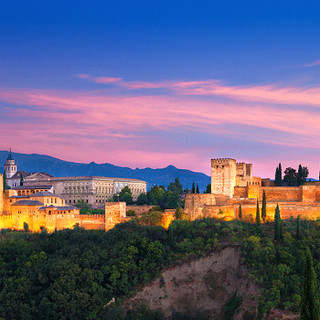 The-Alhambra-in-Granada