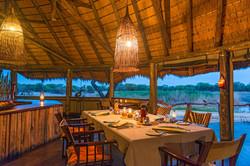 Onguma Tree Top Dining room