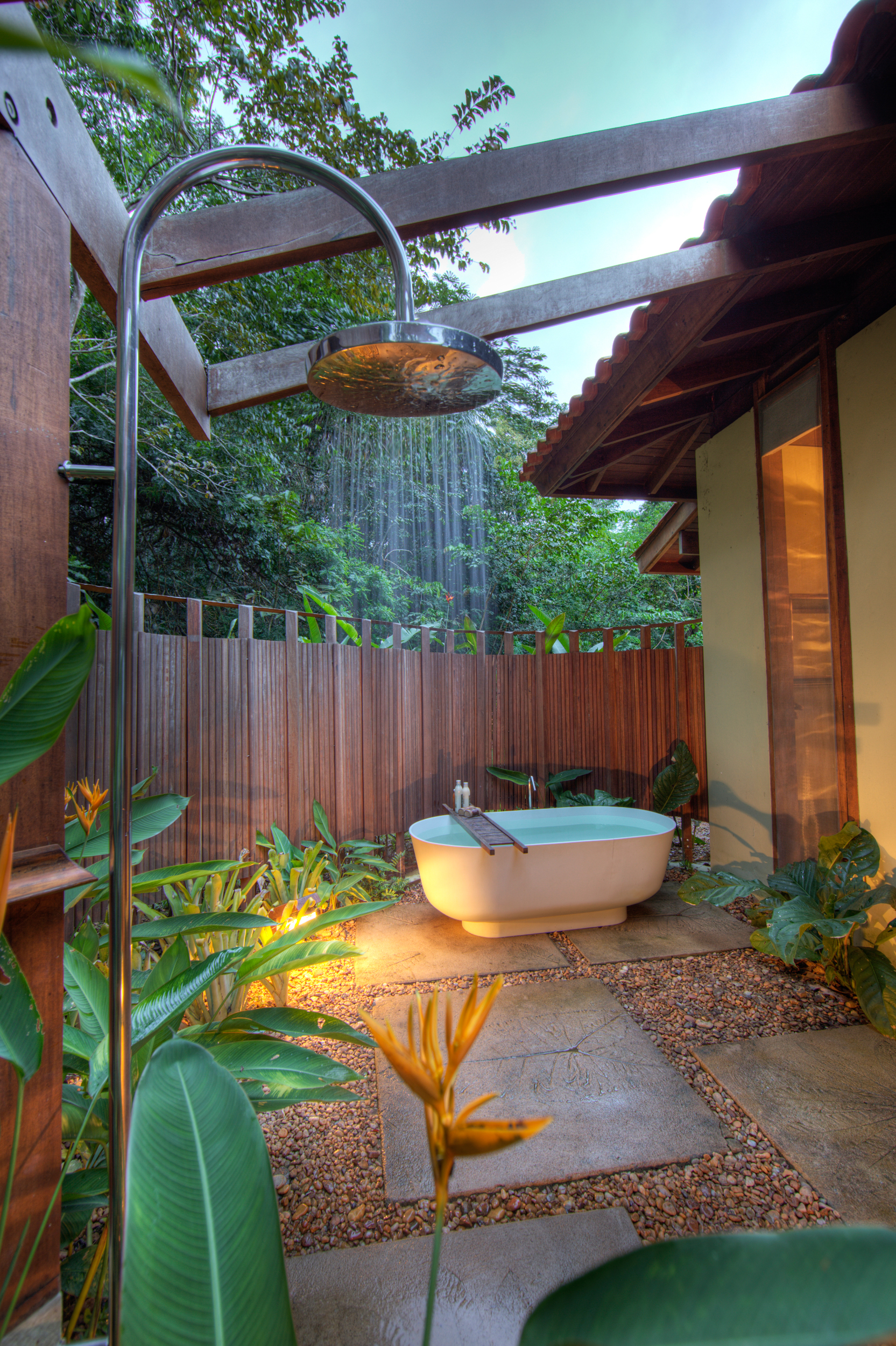 Cristalino Jungle Lodge Special Bungalow - Bathtub and Shower - Samuel Melim