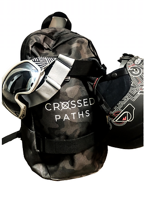 Crossed Paths Camo Day Sack