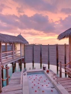 Private Reserve Romantic Bath in Outdoor Jacuzzi