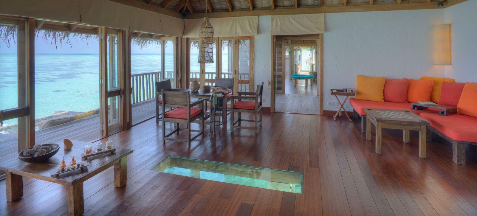 Gili Lagoon Residence Living & Dining Area