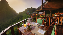 Ladera Resort - St. Lucia... our dream come true....