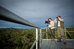 Tourists at Canopy Tower - Samuel Melim