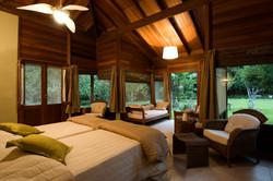 Cristalino Jungle Lodge Bungalow Inside - Katia Kuwabara