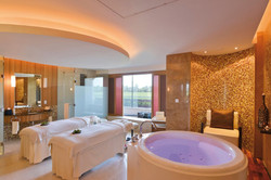Lime Spa Couples treatment room