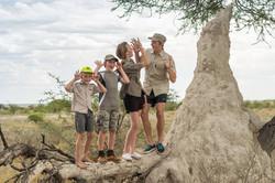 Children at Onguma