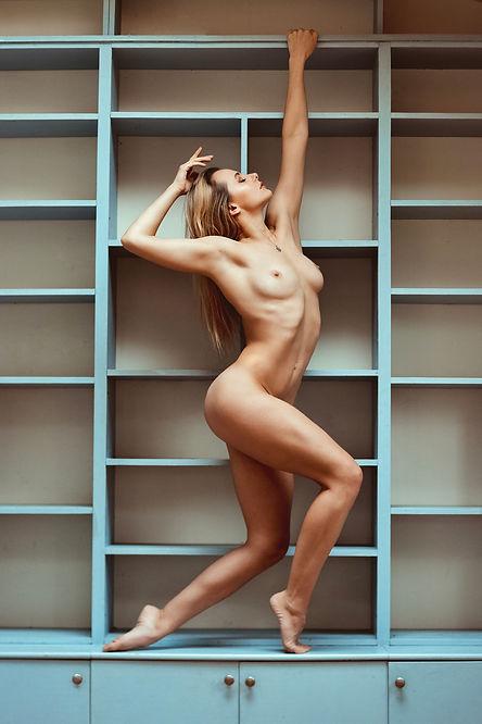 Art Nude Ballet Pose