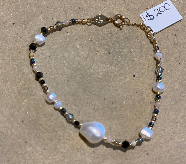Anni Lu Rock and Sea Oyster Bracelet