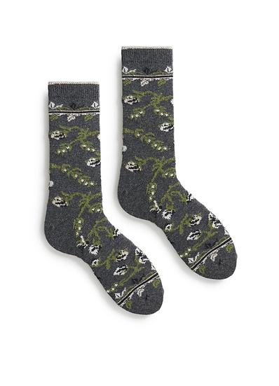 Lisa B Socks Floral Socks