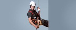 Sit harness Urban, Working seat, Automatic braking descender
