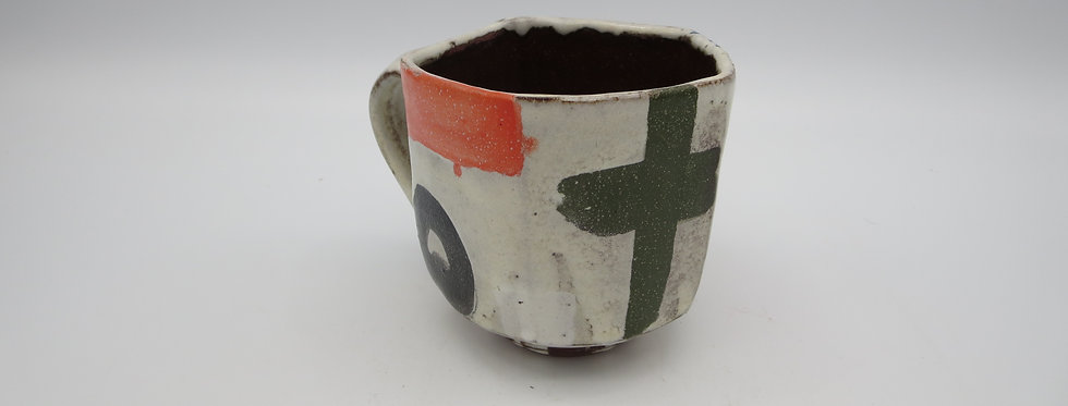 Penta Cup w/Handle  #0226