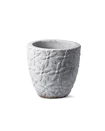 Cement Light Pot