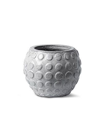 Glazed Terracotta Pot (White)