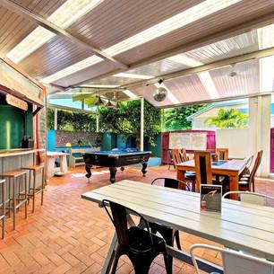 Outdoor space at Aquarius Gold Coast