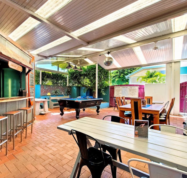 Outdoor space at Aquarius Gold Coast