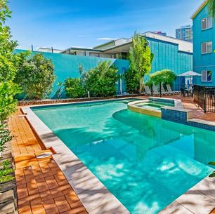 Pool deck at Aquarius Gold Coast