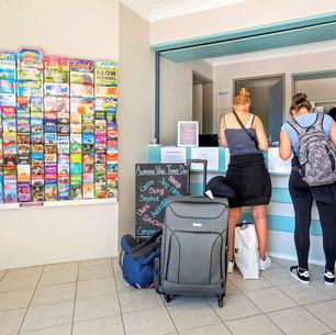 Easy check in at Aquarius Gold Coast