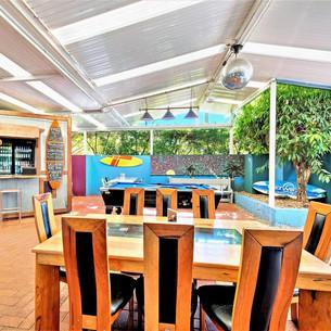 Outdoor area at Aquarius Gold Coast