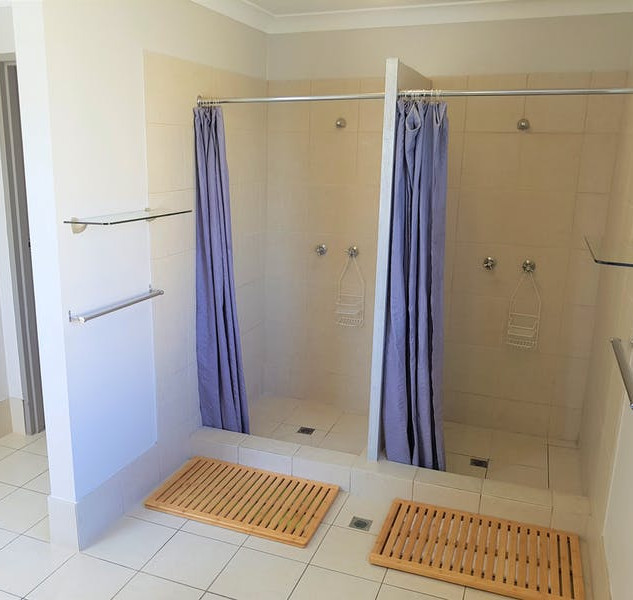 Showers at Aquarius Gold Coast