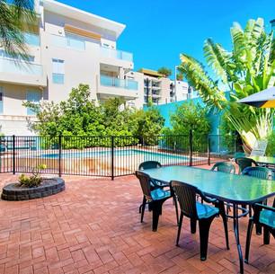 Pool Deck Area at Aquarius Gold Coast