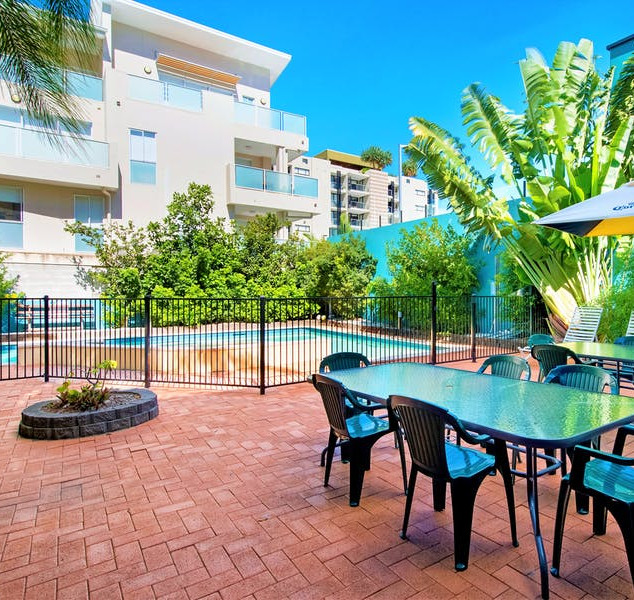 Pool Deck Area at Aquarius Gold Coast