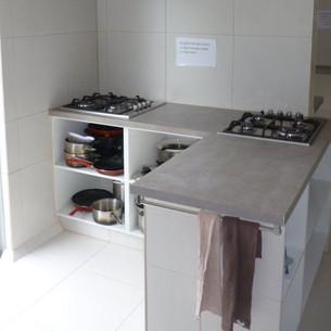 Cooking area at Aquarius Gold Coast