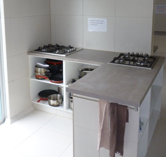 Cooking area at Aquarius Gold Coast