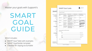 Supporti's SMART goal guide image