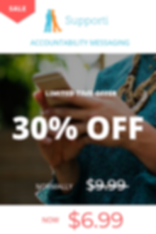 accountability coach messaging sale