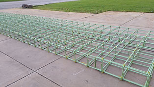 Epoxy Coated Rebar Cages