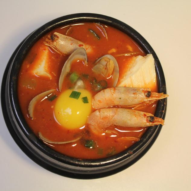 Seafood Tofu Soup | 해불 순두부
