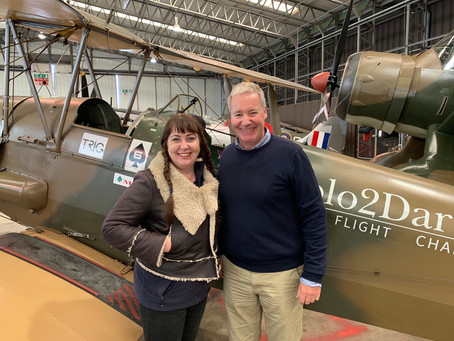 Top Landing Gear Podcast full length interview with the lovely Rob Curling.