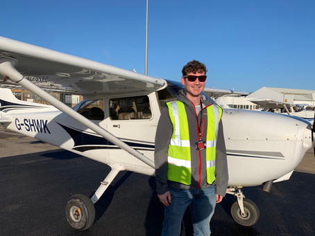 First solo!