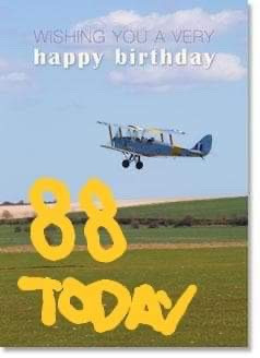 Happy Birthday Tiger Moths