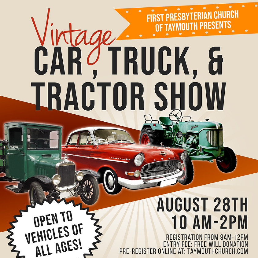 Car, Truck, or Tractor Show