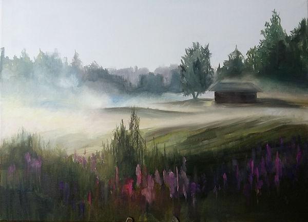 oil painting landscape art