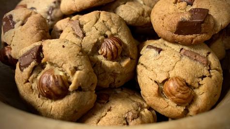 Petits cookies choconoisette
