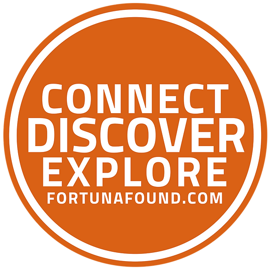 Connect Discover Explore - Round Sticker 1 Inch