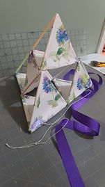 Wrapping Paper Tetrahedron