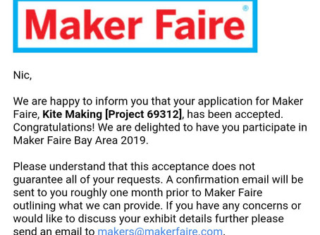 We are going!!! World Maker Faire Bay Area