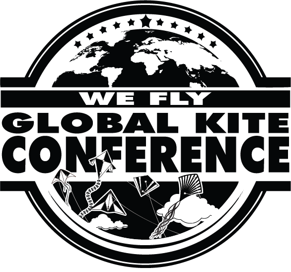 We Fly Global Kite Conference Button