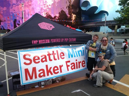 Seattle Mini Maker Faire Crew